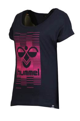 Hummel Table Tee Fiorella SS Women black
